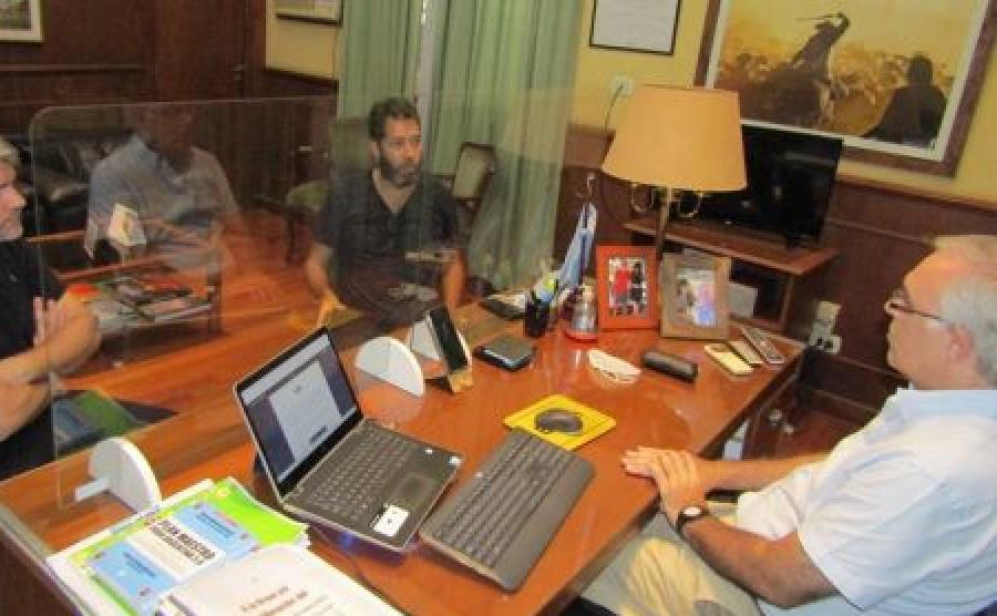 Proyecto Cannabis Medicinal: el ministro Anselmo recibió a miembros de ACCIM