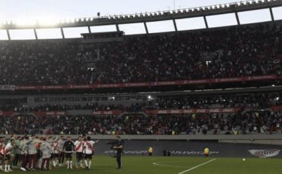Allanaron el estadio monumental