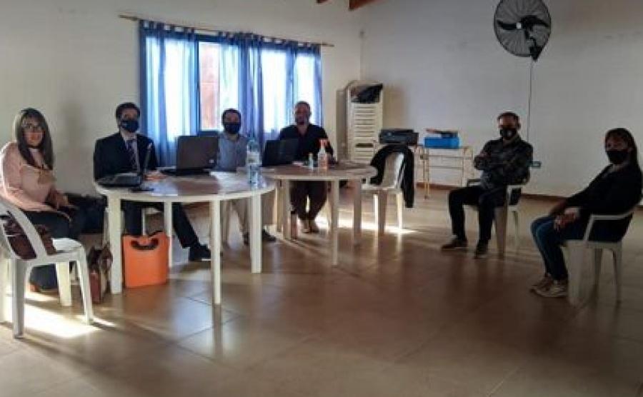 Juez de Mocoretá se trasladó hasta Juan Pujol para garantizar el acceso a justicia