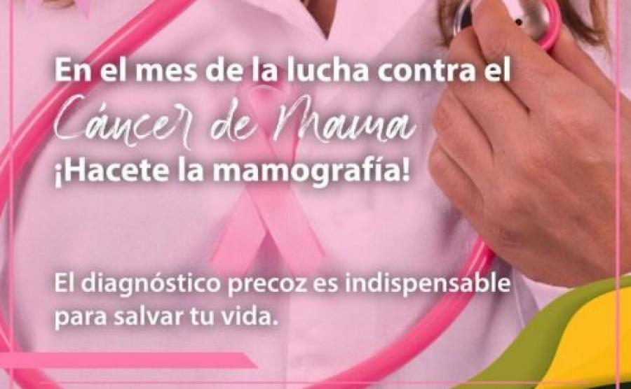 Salud continúa con acciones para la prevención y detección temprana del Cáncer de Mama